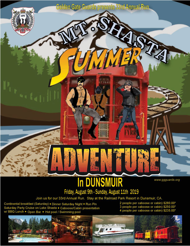 Summer adventure flyer